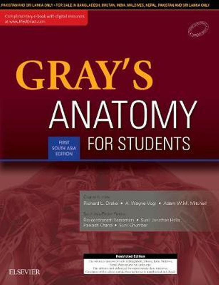 Grays Anatomy for Students: 1st SAE | Bazaar International